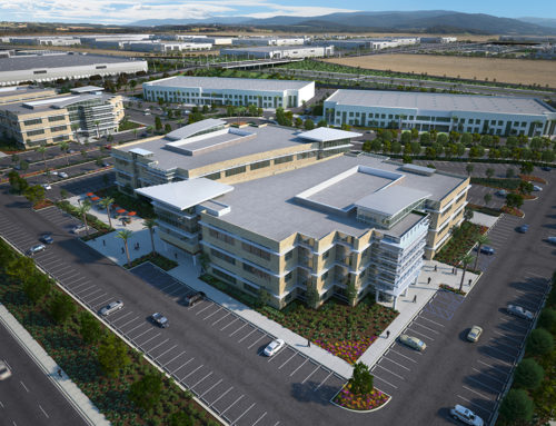 Brown Field Tech Park Rendering
