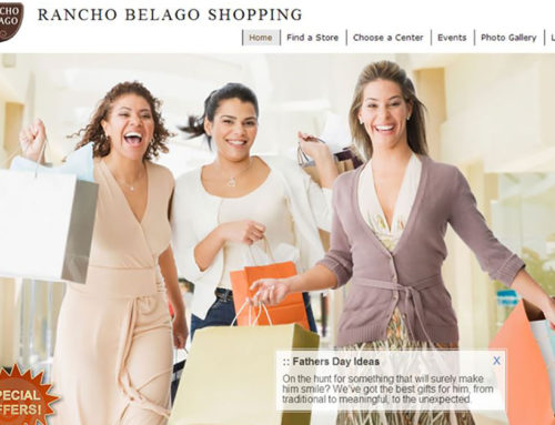 Rancho Belago Shopping – Web