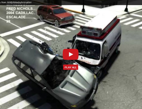 Intersection Accident – Collision Animation
